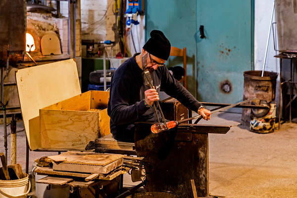 ITALY; Glass Blowing; Murano