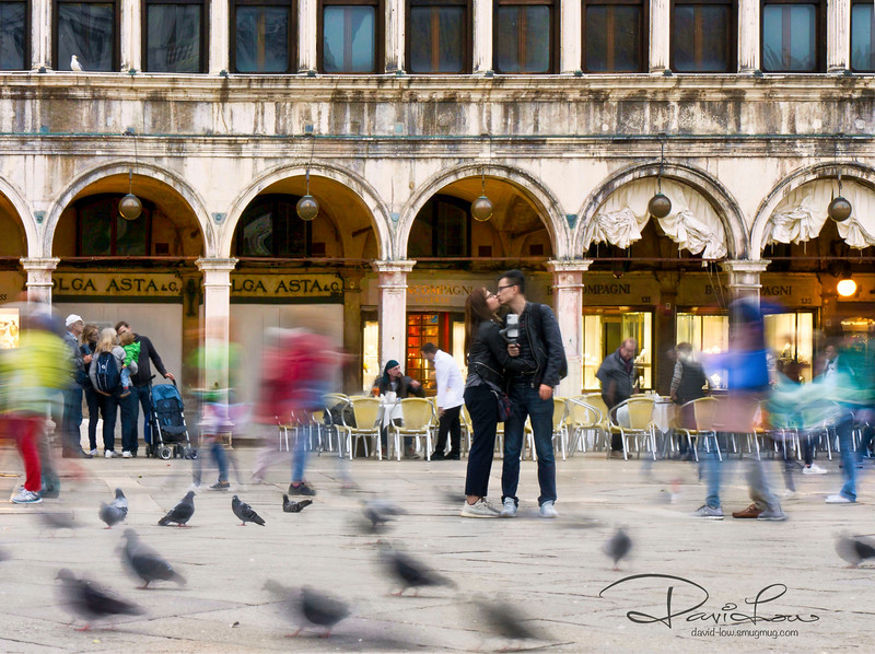 St. Mark's Square - Finding love