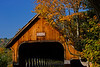 Soaking in the breath taking fall colors with the forground of covered bridges and and site seekers.