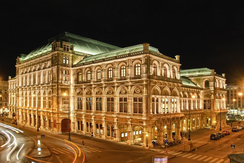 Opera house Vienna, Austria