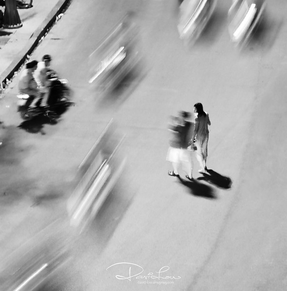 Street crossing at Hanoi