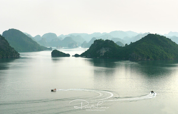 Ha Long Bay 2 - Viewed from Ti Top Island