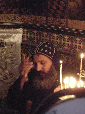 in the Church of the Holy Sepulchre, Christian Quarter