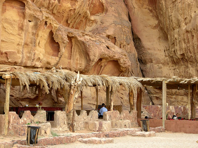 Bedouin operated campground, Wadi Rum