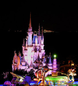 Cinderella's Castle, Disney World FL