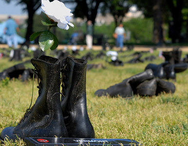 Boots of Fallen Soldiers - The Mall