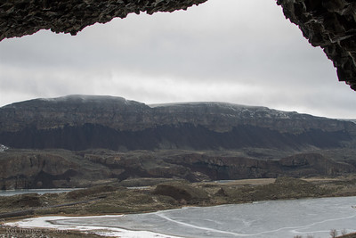View from one of the caves.