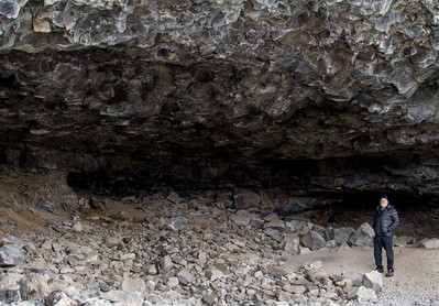 One of the larger caves.