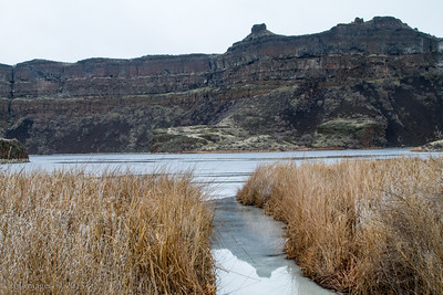 Dry Falls Lake, Sun Lakes-Dry Falls State Park.