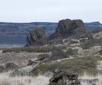 Rock formations, Sun Lakes-Dry Falls State Park.