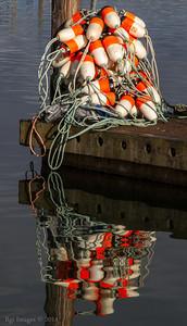 Crabbing gear, Westport Marina, Westport, WA.
