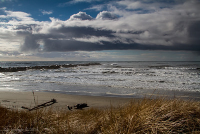 The North Jetty, Ocean Shores, WA.