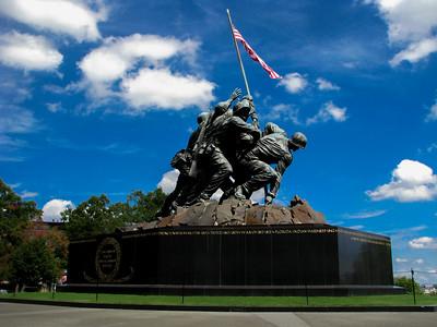 Arlington Cemetery, VA: Iwo Jima Statue & Iwo Jima Memorial