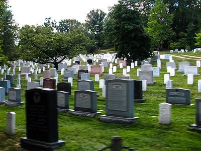 Arlington Cemetery, VA: Older tomb stones