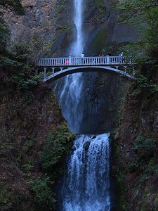 Multonomah Falls, Columbia River Gorge, OR