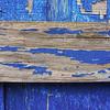 Peeling Blue Paint, Wilmington, Illinois