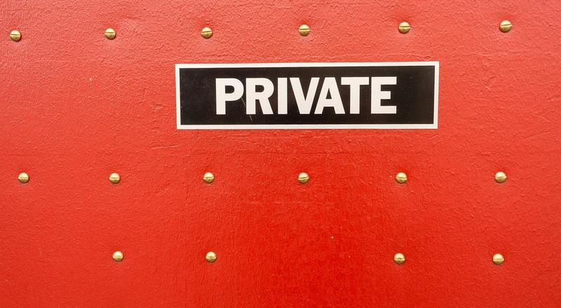 Private Door, Wilmington, Illinois