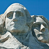 Half of Mount Rushmore, Keystone, South Dakota