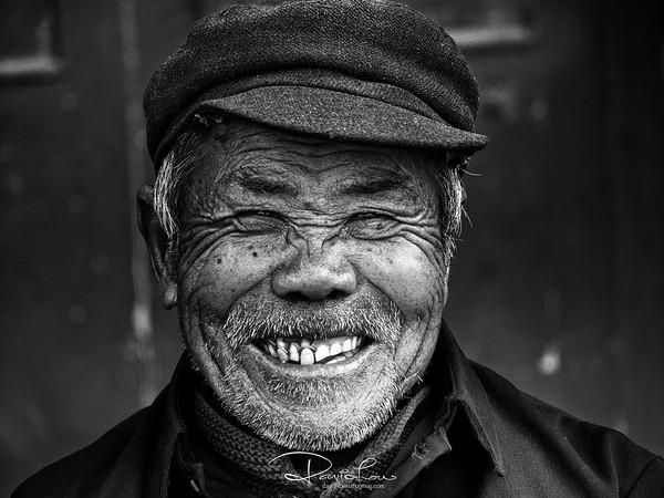 An elder in Xiapu