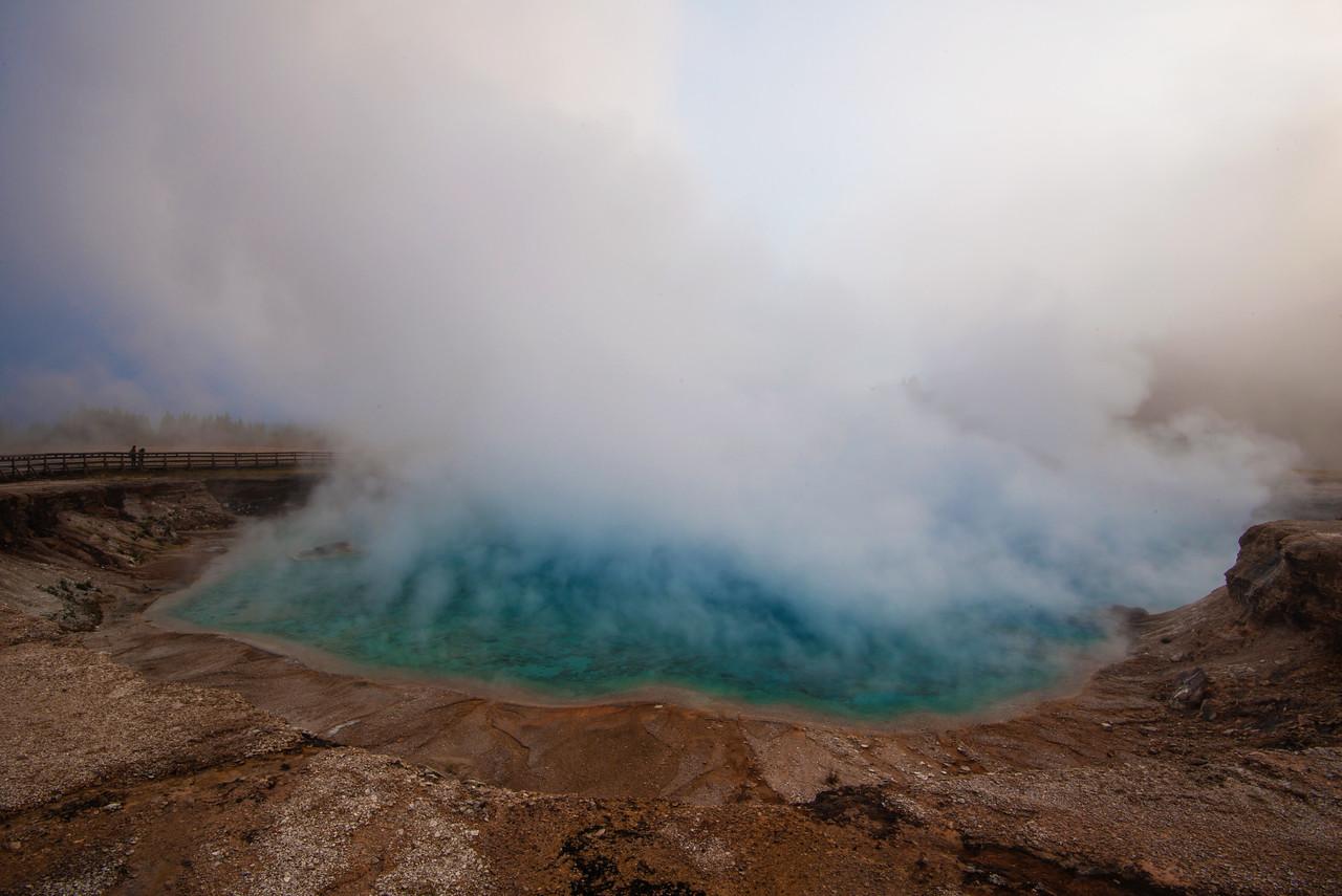 Yellowstone, geyser