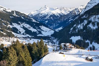Eggalm skiing aria
