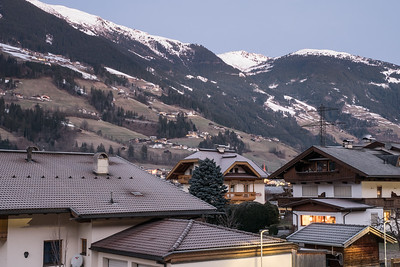 Bichl. View from apartment Heim
