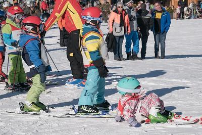 First skiing steps. Penken aria.