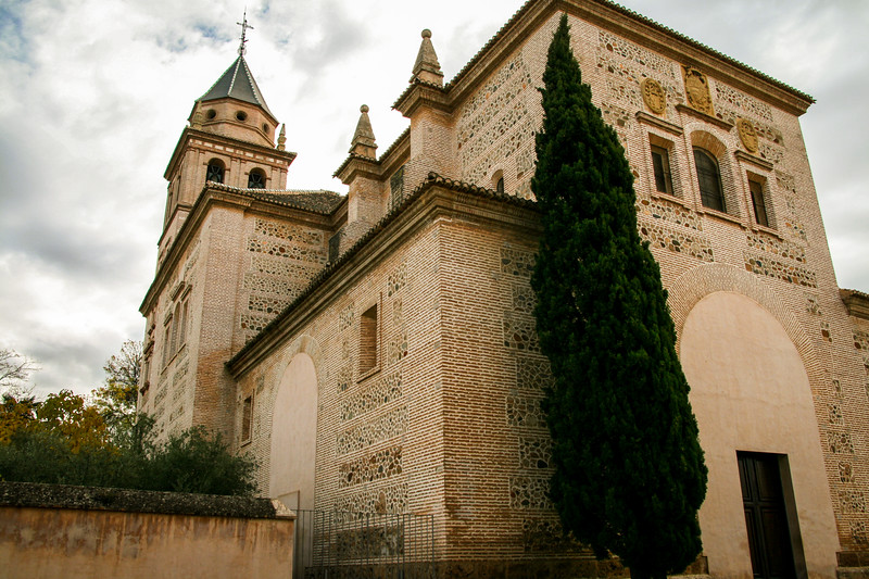 Cathedral at The Alhambra ~ Granada, Spain