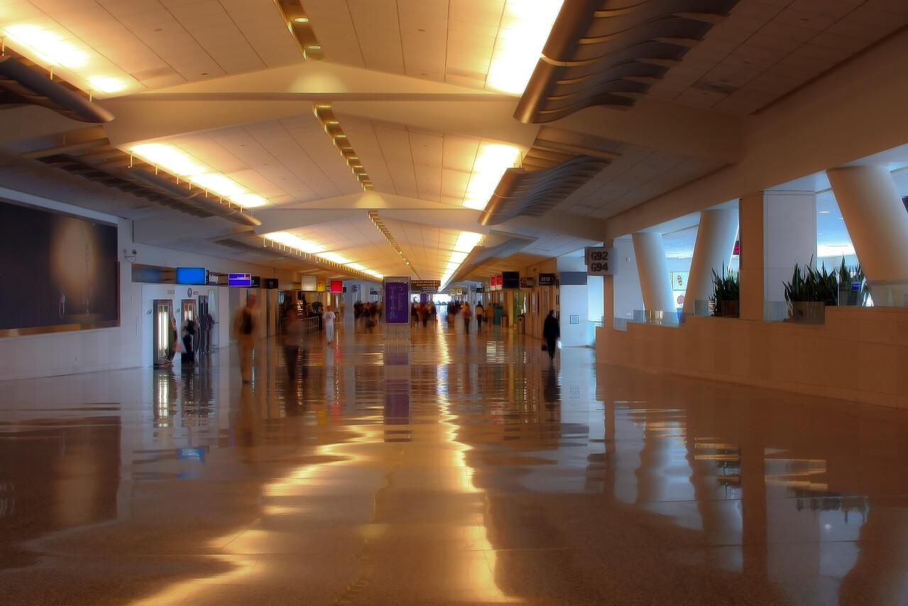 Airport Hallway Interior