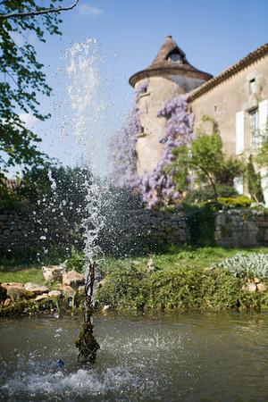 Jardins du Mayne, Gavaudun.