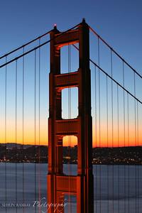 South Tower at Dawn