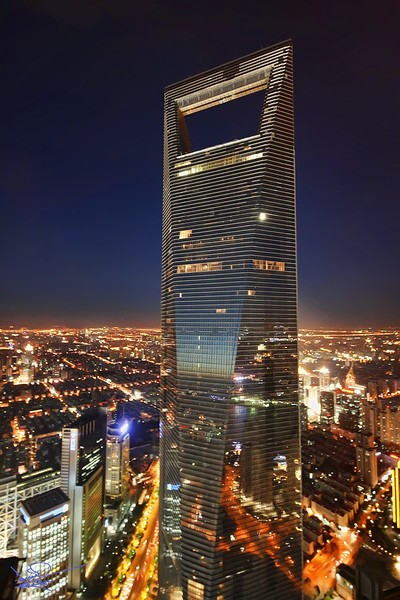 World Financial Centre, Shanghai, China