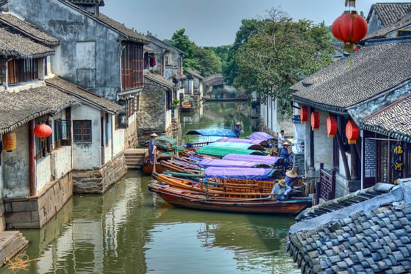 Zhouzhang Canal, China
