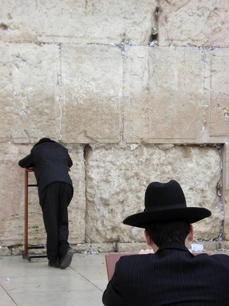 Jerusalem, The Western Wall Prayers