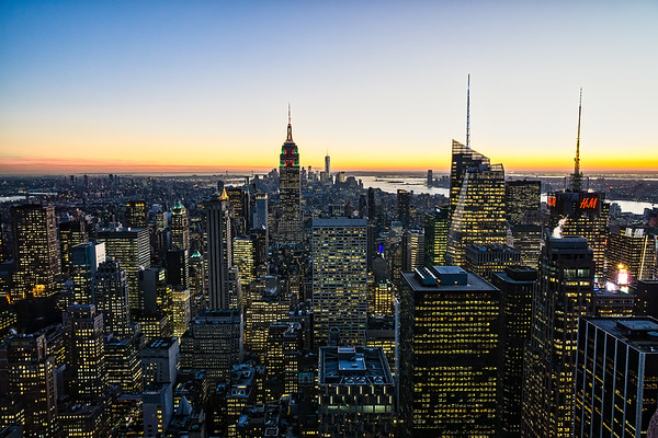 New York City Dusk