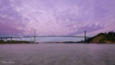 Lions Gate Bridge - Vancouver