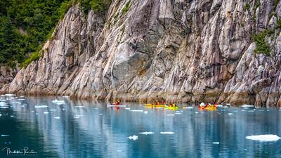 Ice Kayaking