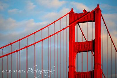 Architectural Detail, Golden Gate Bridge