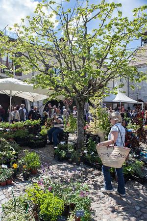 Flower Festival at Tournon d'Angenais, Lot et Garonne