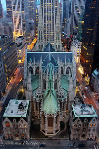 St. Patrick's Cathedral at Dusk