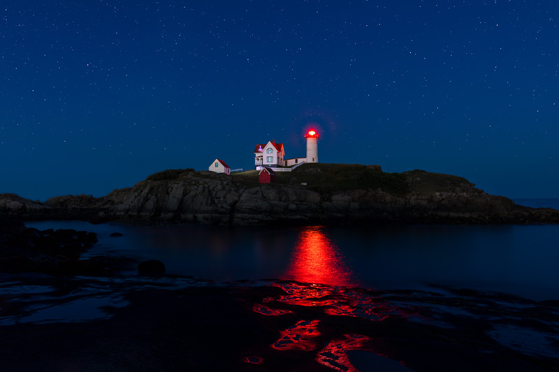 Stars over the Nubble