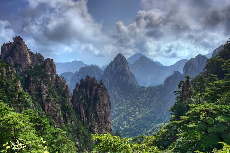 Yellow Mountains, Hangshan, China