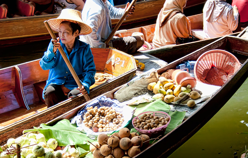 Floating Market, Bankok, Thailand