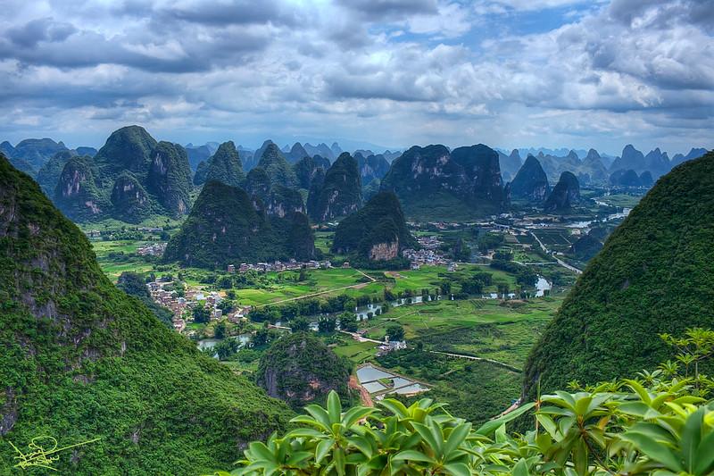 Yangshou Valley, China