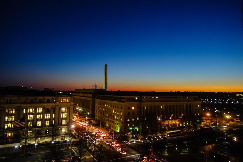 Washington DC Sunset.