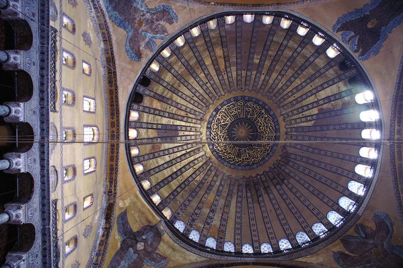 Haghia Sophia Dome, Istanbul