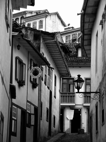 Narrow Street - Ouro Preto