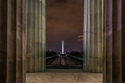 Washington Monument from the Lincoln Memorial