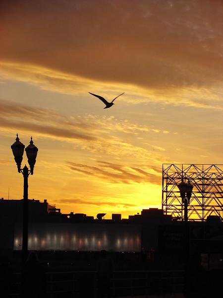 Sunset too