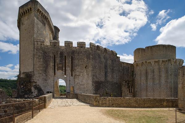 Chateau de Bonaguil. Main Entrance.